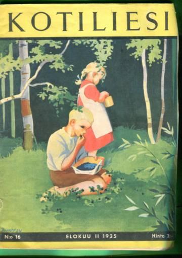 Kotiliesi N:o 16/1935 (Martta Wendelin)
