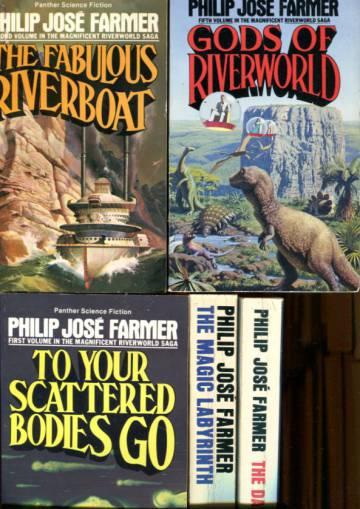 The Riverworld Saga 1-5