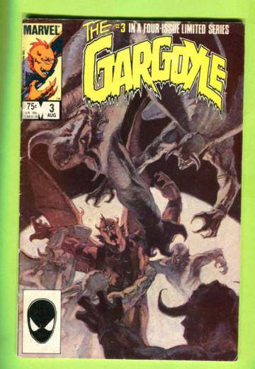 Gargoyle Vol 1 #3 (of 4) Aug 85
