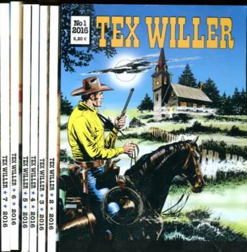 Tex Willer -vuosikerta 2016 (1-16)