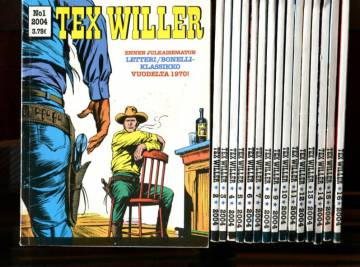 Tex Willer -vuosikerta 2004 (1-16/04)