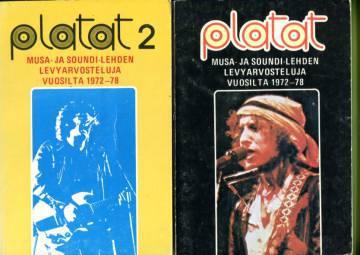 Platat 1-2 - Musa- ja Soundi-lehden levyarvosteluja vuosilta 1972-78