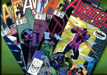 VARASTOTYHJENNYS Avengers Spotlight -minipaketti (4 lehteä)
