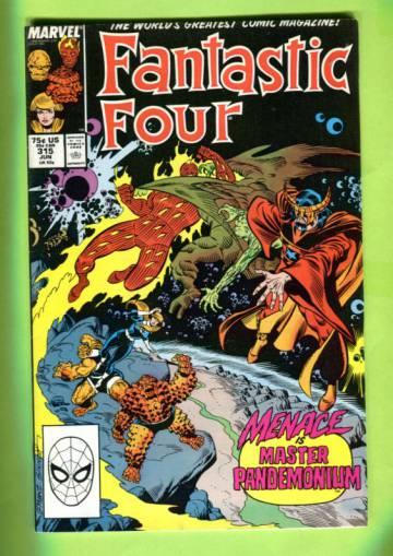 Fantastic Four Vol. 1 #315 Jun 88