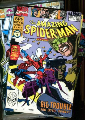 VARASTOTYHJENNYS Marvel-Annual paketti 4 (10 numeroa)
