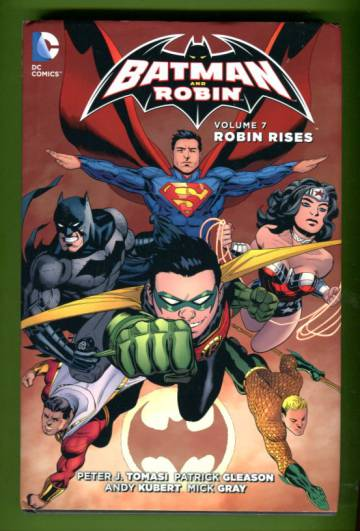 Batman and Robin Vol 7: Robin rises