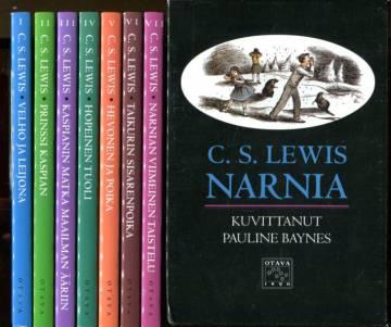 Narnia I-VII + laatikko