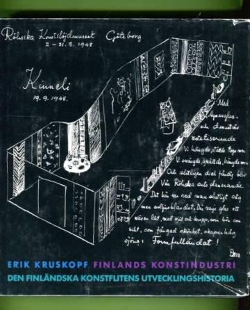 Finlands konstindustri - Den Finländska konstflitens utvecklingshistoria