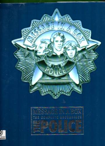 The Police - Message in a Box: The Complete Recordings (kirja + 4 cd-levyä)