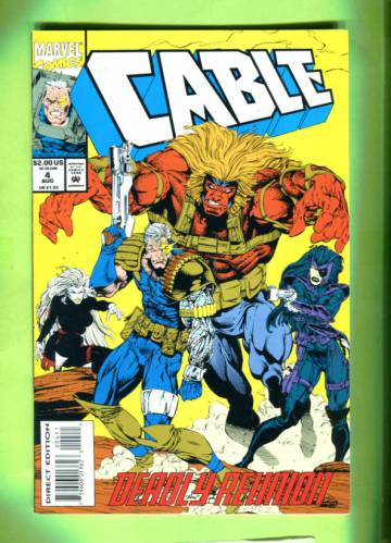 Cable Vol. 1 #4 Aug 93