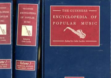 The Guinness Encyclopedia of Popular Music Vol. 1-4