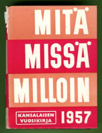 Mitä Missä Milloin 1957 (MMM)