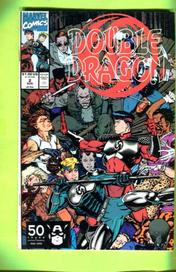 Double Dragon Vol 1 #2  Aug 91