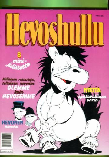 Hevoshullu -albumi 1989