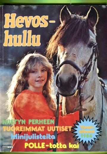 Hevoshullu -vuosialbumi 1984