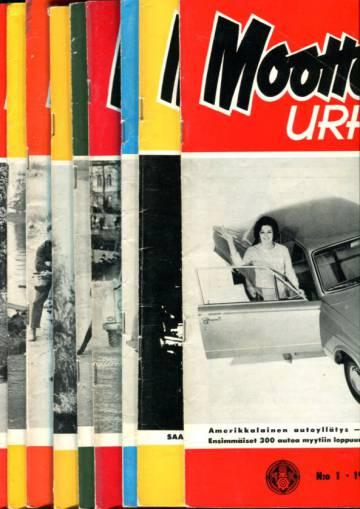 Moottoriurheilu - Vuosikerta 1964 (numerot 1-12)