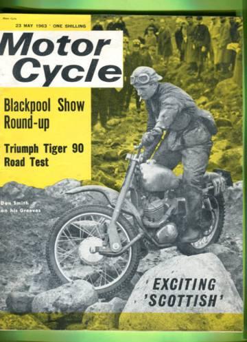 Motor Cycle #23 May 63