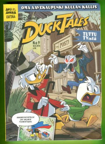 DuckTales 9/18 - Oma aavekaupunki kullan kallis!