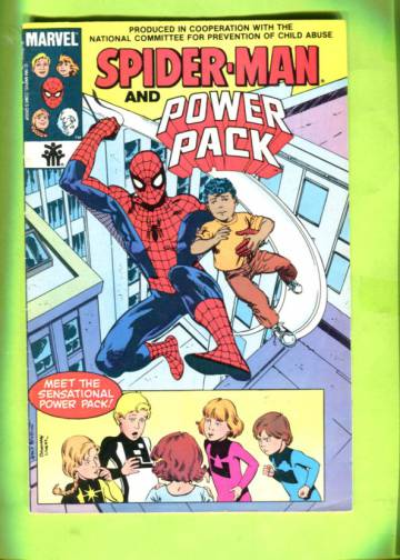 Spider-Man And Power Pack Vol 1 #1 84