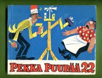 Pekka Puupää Sarjakuva