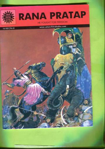 Amar Chitra Katha #563: Rana Pratap - He Fought for Freedom