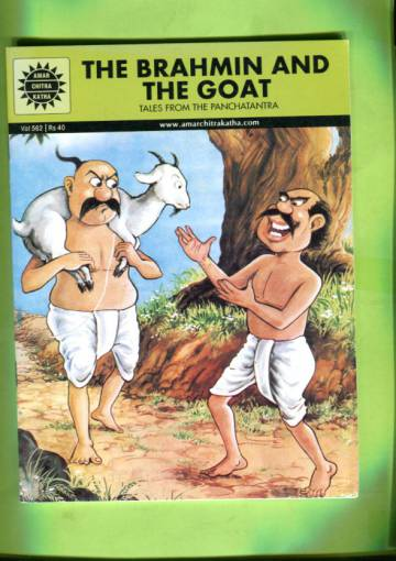 Amar Chitra Katha #562: The Brahmin and the Goat - Tales from the Panchatantra