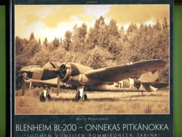 Blenheim BL-200 - Onnekas pitkänokka: Suomen viimeisen pommikoneen tarina