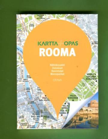 Kartta Opas Rooma Useita Tekijoita Antikvariaatti Lukuhetki