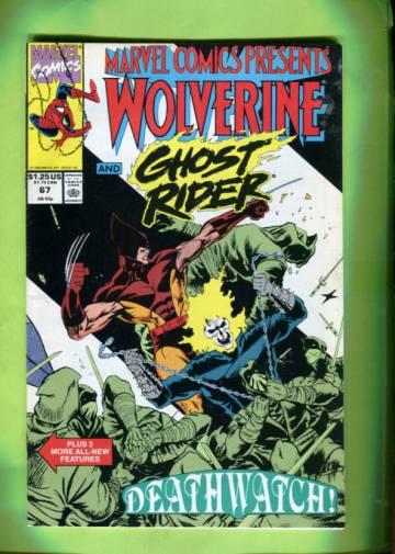 Marvel Comics Presents #67 1990