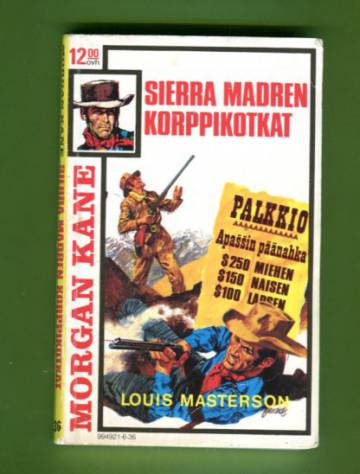 Morgan Kane 36 - Sierra Madren korppikotkat