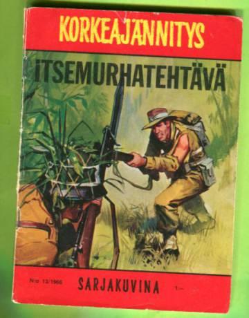 Korkeajännitys 13/66 - Itsemurhatehtävä