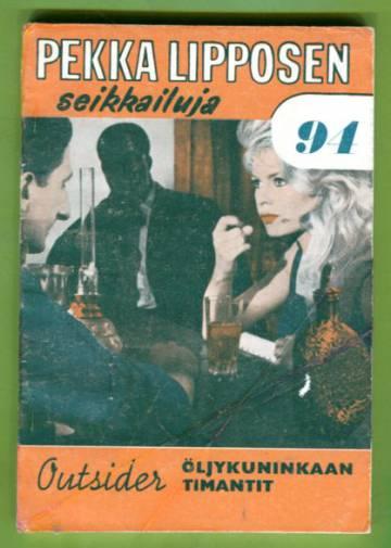 Pekka Lipposen seikkailuja 94 (10/64) - Öljykuninkaan timantit