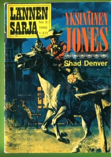Lännensarja 2/66 - Yksinäinen Jones