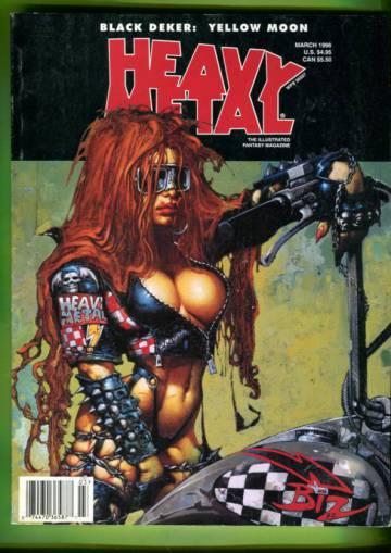 Heavy Metal Vol. XXII #1 Mar 98