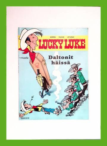 Lucky Luke 59 - Daltonit häissä (1. painos)