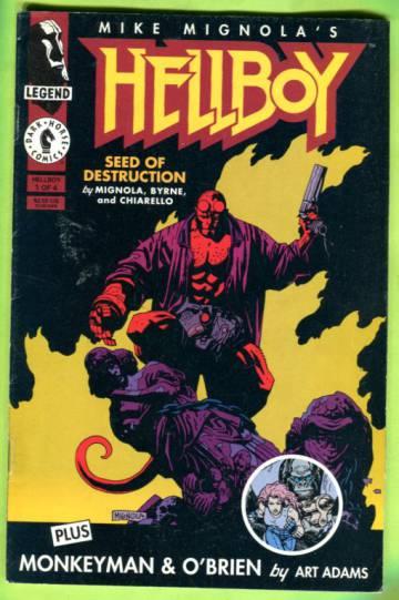Hellboy: Seed of Destruction #1 (of 4) Mar 94