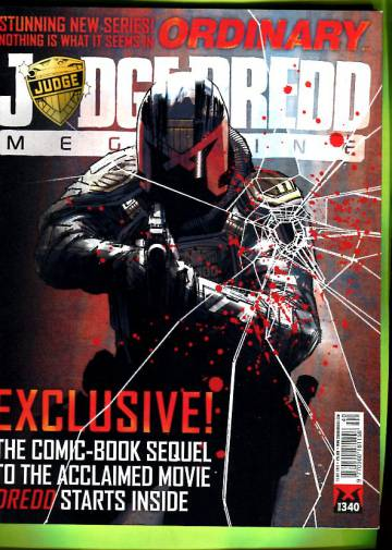 Judge Dredd Megazine #340 Oct 13