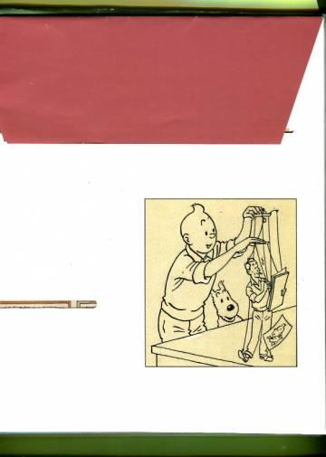 Tintti -kuoret 4kpl (koko sarja)