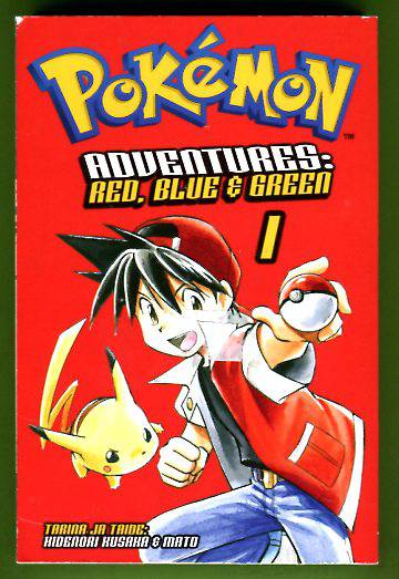 Pokémon Adventures - Red, Blue & Green 1