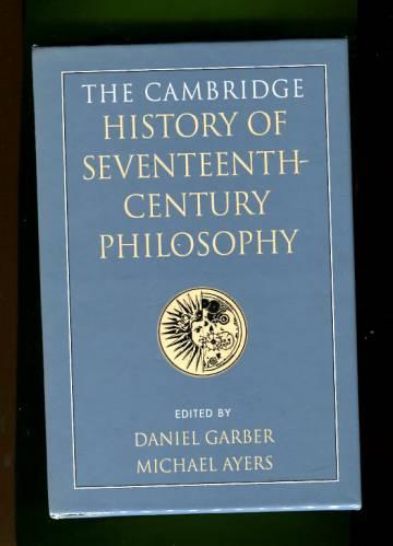 The Cambridge History of Seventeenth-Century Philosophy - Volume 1-2