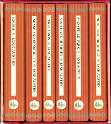 Jane Austen -boksi (6 kirjaa ja säilytyskotelo)