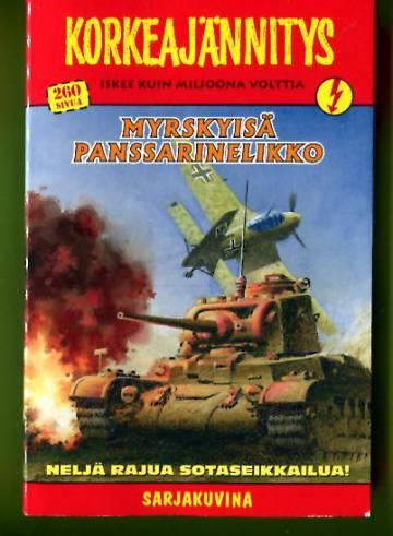 Korkeajännitys 4/19 - Myrskyisä panssarinelikko