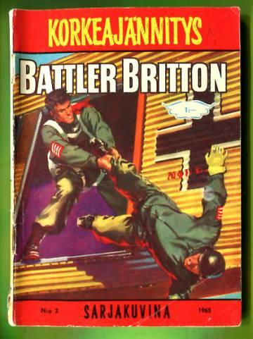 Korkeajännitys 2/65 - Battler Britton