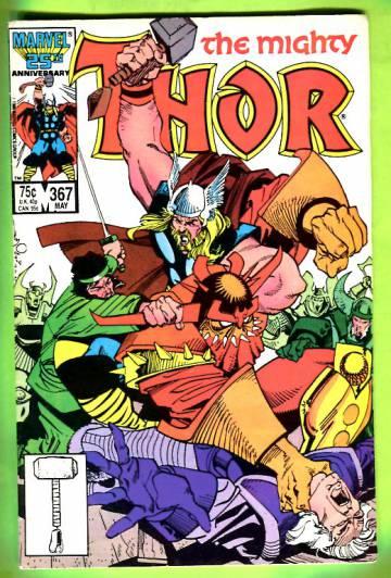 Thor Vol 1 #367 May 86