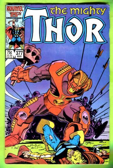 Thor Vol 1 #377 Mar 87