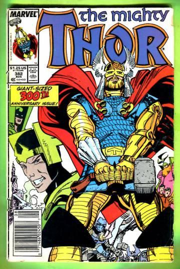 Thor Vol 1 #382 Aug 87
