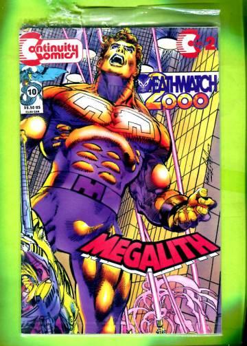 Deathwatch 2000 #10: Megalith #2 Jun 93