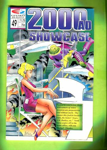 2000AD Showcase #49 1989
