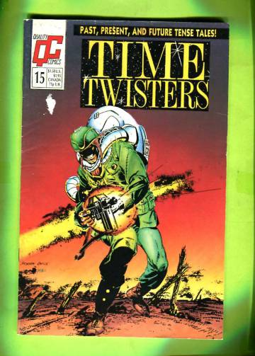 Time Twisters #15 1989