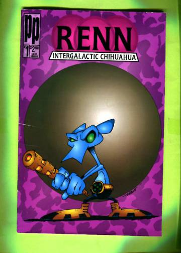 Renn Intergalactic Chihuahua #1 94 / Zen Intergalactic Ninja April Fool's Special Vol. 1 #1 94